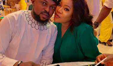 Photo of Toyin Abraham and Husband, Kolawole Ajeyemi step out in style (photos)