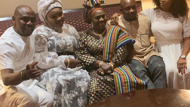 Photo of How Mama Rainbow and family marked her 77th birthday in grand style in Dubai (photos)