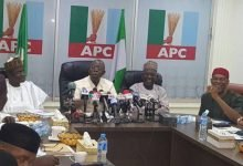 Photo of APC suspends Oshiomhole
