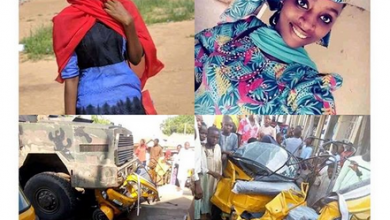 Photo of Military truck kills Federal Polytechnic Damaturu student, one other