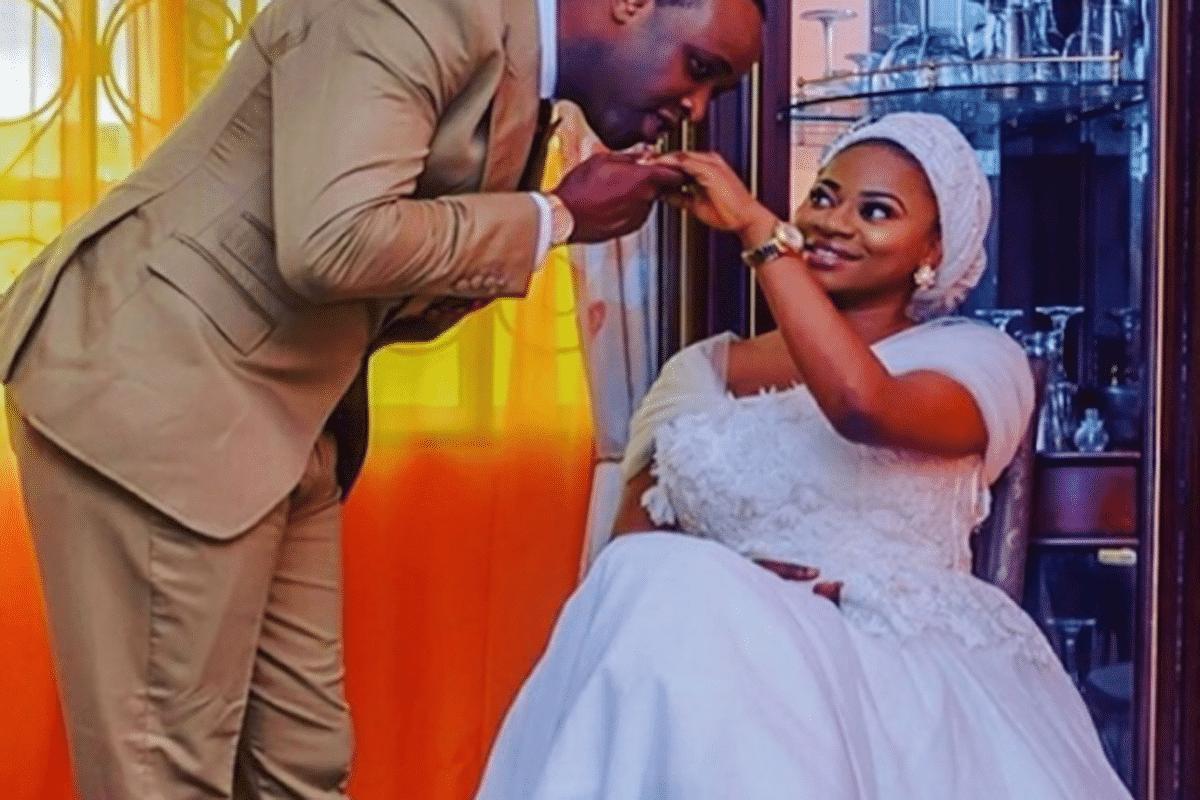 Femi Adebayo's new wife