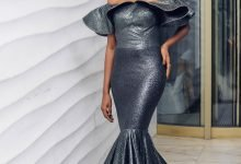 Photo of Nollywood actress Lala Akindoju stuns in two dresses for the 43rd Miss Nigeria pageant