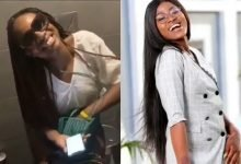 Photo of BBNaija's Alex shares unclad video of Anto in the toilet to wish her on her birthday