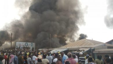 Photo of Residents burn down Church as baby's corpse is found buried in church altar in Akure