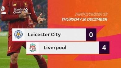 Photo of Premier League: Leicester City vs Liverpool 0-4
