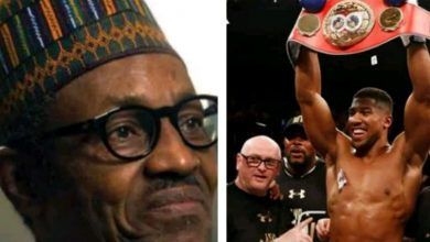 Photo of Buhari told to show support for Anthony Joshua ahead of clash with Andy Ruiz