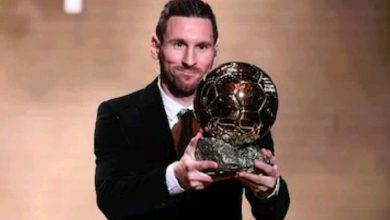 Photo of How football stars around the world reacted to Messi winning 6th Ballon d'Or