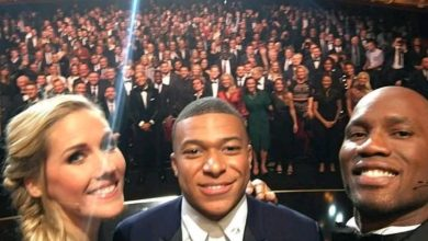 Photo of How Drogba fulfilled a 10-year debt to Mbappe at the 2019 Ballon d'Or awards (photos)