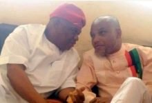 Photo of What Nnamdi Kanu said about Orji Uzor Kalu's conviction
