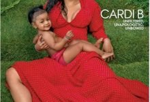 Photo of Cardi B and her daughter Kulture cover Vogue magazine (photos)