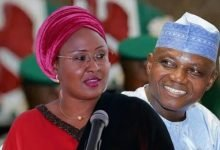 Photo of Garba Shehu has gone beyond his boundaries – Aisha Buhari