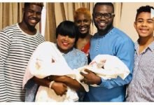 Photo of Funke Akindele Bello opens up about her babies for the first time