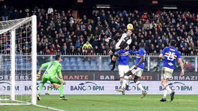 Photo of Ronaldo sends Twitter into a frenzy as he scores superb header for Juventus (Video)