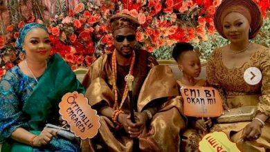 Photo of First photos from engagement between 9ice and third baby mama, Olasunkanmi Ajala