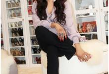 Photo of Former Miss Nigeria, Sylvia Emechete flaunts shoe closet