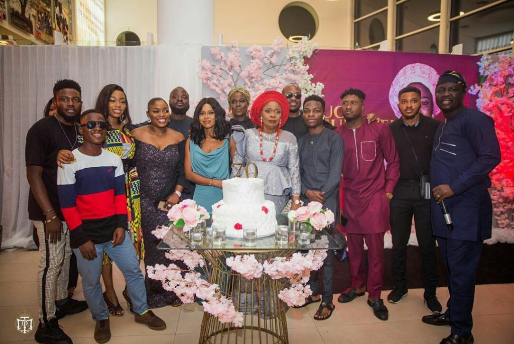 Ex BBNaija star Bisola Aiyeola's mum turned 70 and the star celebrated her mum