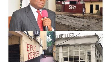 Photo of More trouble for Orji Uzor Kalu as EFCC marks Sun newspaper, other properties for seizure