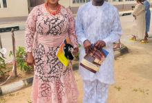 Photo of Actress Jaiye Kuti shows off husband as she marks 19th wedding anniversary (photos)
