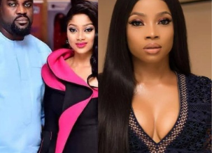 Photo of Yomi Black's wife weighs in on husband's drama with Toke Makinwa