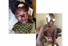 Photo of Residents beat man for punishing his wife after catching her in bed with another man