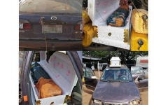 Photo of Nigeria Customs intercepts gallons of petrol hidden inside coffins