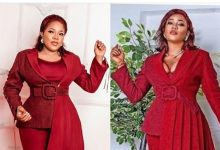 Photo of Toyin Abraham and Toyin Lawani in battle over best dressed (photos)