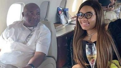 Photo of Governor Hope Uzodinma makes his young second wife, Chioma, the First Lady of Imo State (Photos)