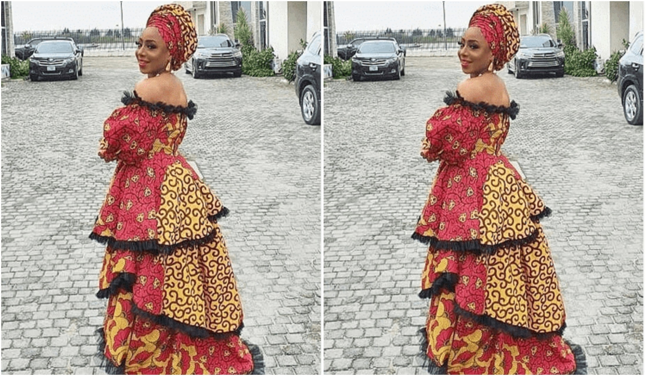 Dakore Akande issues with her in-laws
