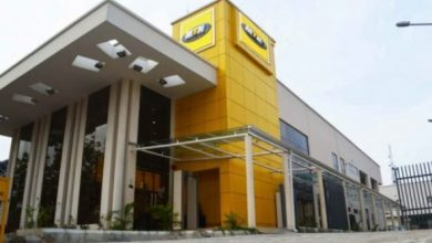 Photo of MTN Office invaded by armed robbers
