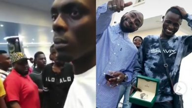 Photo of Davido's associate, Aloma DMW allegedly beaten by cultist at Marlian Fest (Video)