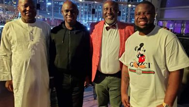 Photo of Dino Melaye throws birthday party in Dubai, Hushpuppi, Deji Adeyanju, Dogara attend (Photos)