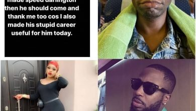 Photo of Bobrisky, Tunde Ednut and Speed Darlington spark beef over who made who popular