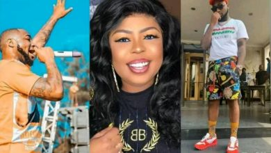 Photo of Afia Schwarzenegger slams Davido for accusing Ghanaians of snatching his wristwatch