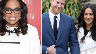 Photo of Oprah Winfrey speaks on telling Prince Harry and Meghan Markle to leave royal family
