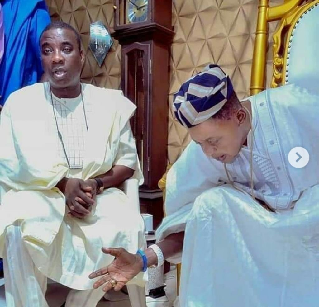K1 and Alaafin of Oyo