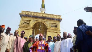 Photo of Top Osun State officials visit Oba Abdulrasheed Akanbi as he marks 4th year on throne as Oluwo of Iwo