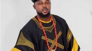 Photo of Lovely native attires rocked by Kolawole Ajeyemi as he marks his birthday