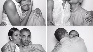 Photo of Obama melts hearts on social media as he celebrates wife's birthday