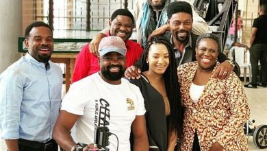 Photo of Lovely photos from behind the scenes of 'Citation', a Kunle Afolayan movie featuring Temi Otedola