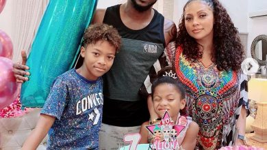 Photo of Peter Okoye celebrates daughter, Aliona's 7th birthday with private party (Photos)