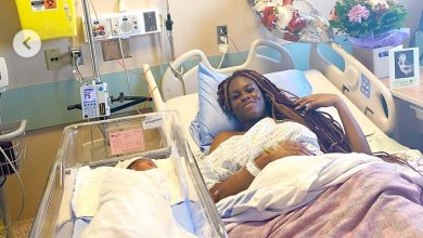 Photo of Actress Lydia Lawrence-Nze pens down emotional note as she welcomes baby