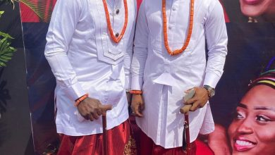 Photo of I Go Save traditional wedding: AY Comedian, Hushbebe, Akpororo turn up (Photos)