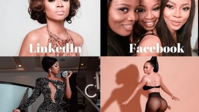 Photo of Toke Makinwa, Osas Ighodaro, Khloe join Kerry Washington and Dolly Parton in #SocialMediaChallenge