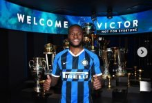 Photo of Victor Moses joins Inter Milan on loan, shares pictures from unveiling