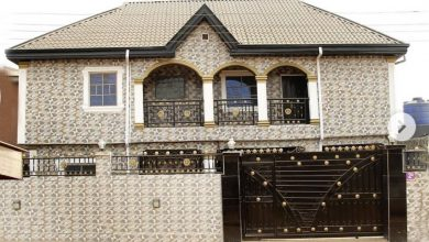 Photo of MC Oluomo flaunts house built by his wife (Photos)