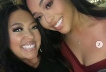 Photo of Jordyn Woods' mother shares pictures to prove daughter didn't undergo cosmetic surgery