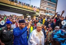Photo of Gov Dapo Abiodun visits Sabo Market in Sagamu razed by fire (Photos)