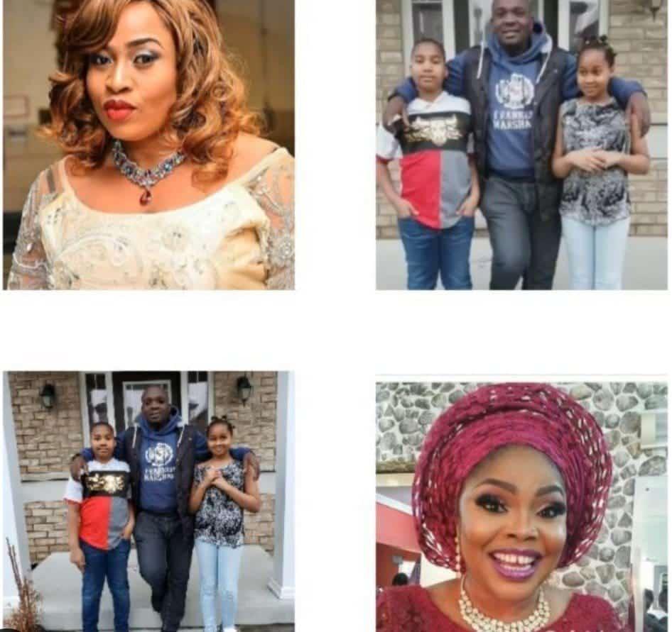 Aisha Abimbola - Yomi Fabiyi and the kids - Lola Alao