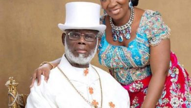 Photo of Lulu-Briggs' Widow, Seinye reveals reason why her stepson is against her
