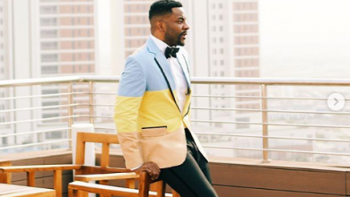 Photo of Ebuka's caption about wife gets tongues wagging